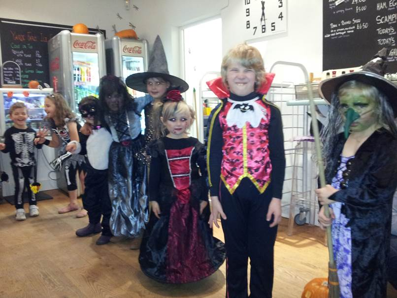 Fancy Dress competition, Halloween 2014