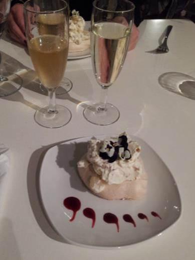 Gourmet Dinner dessert