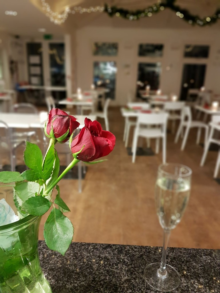 Valentines dinner at the Guardhouse cafe