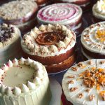 Karen's cakes at the Guardhouse Cafe